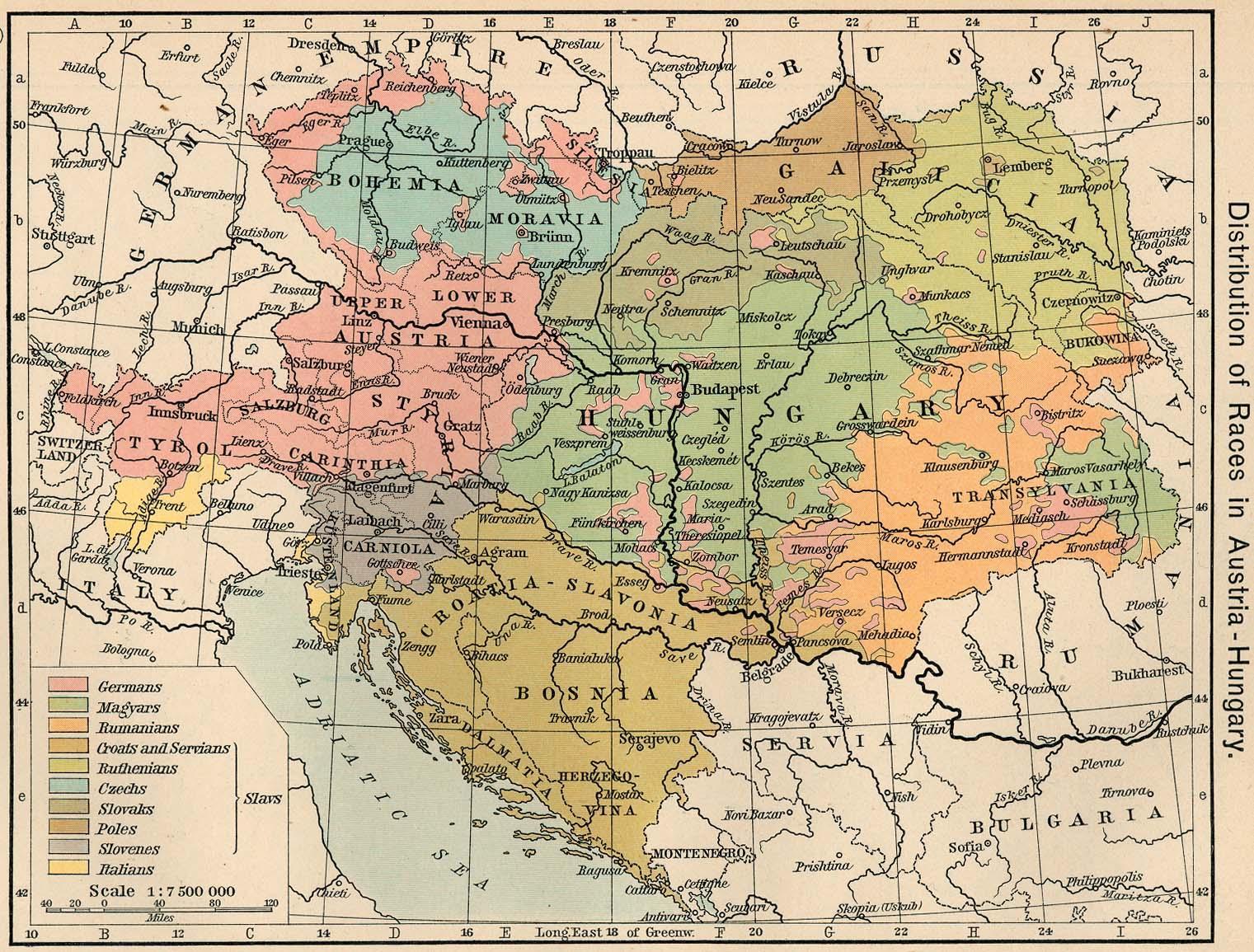 Ostrig Kort 1900 Ostrig Ungarn Kort 1900 Western Europe Europe