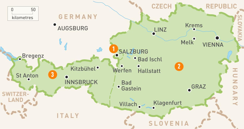Ostrig Kort Et Kort Over Ostrig Western Europe Europe